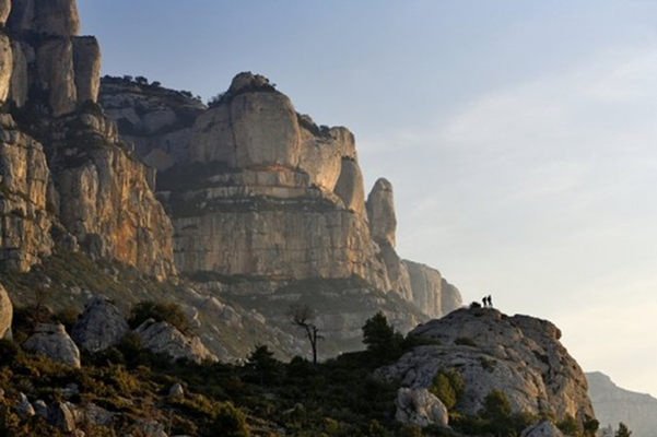 Montsant Mountain Range