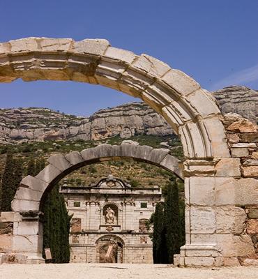 Cartoixa de Escaladei in the Priorat