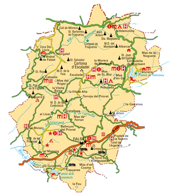 Wine and Culture Route in the Priorat