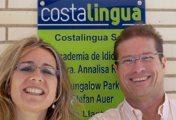 Dr. Annalisa Rei and Stefan Auer